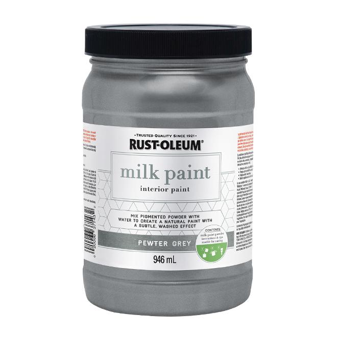 Shimmer Glazing Cream - 946 mL - Pewter Grey
