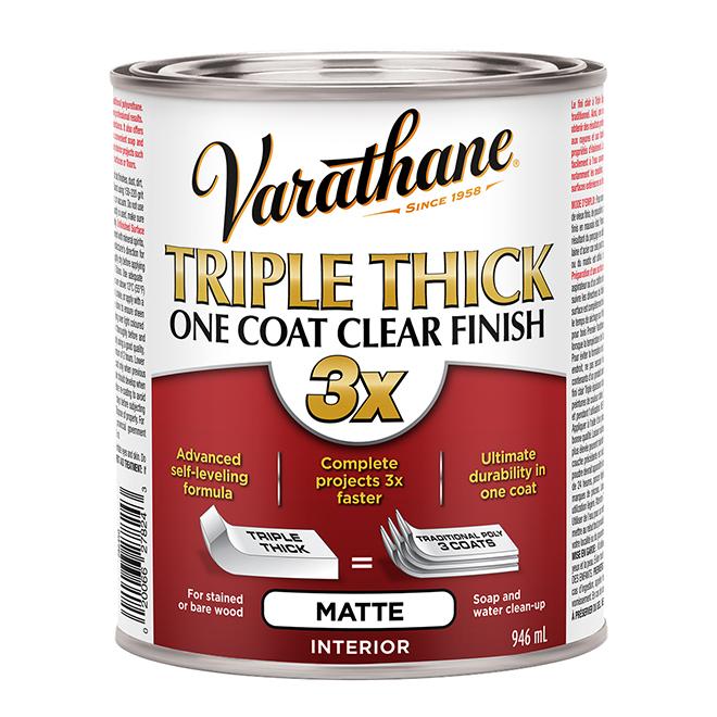 Interior Wood Varnish - Triple Thick - Matte - 946 mL
