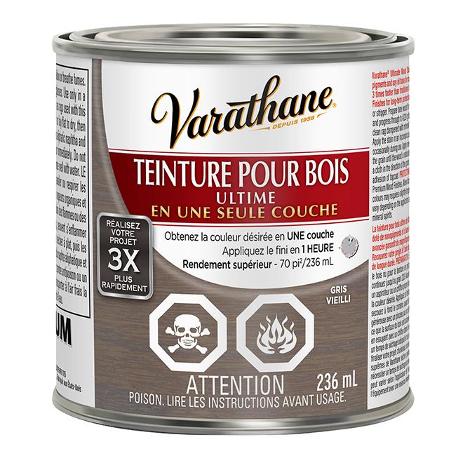 Teinture pour bois Ultime, 236 mL, gris vieilli