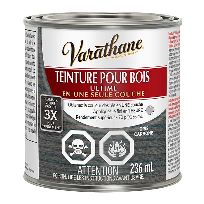 Teinture pour bois Ultime, 236 mL, gris carbone