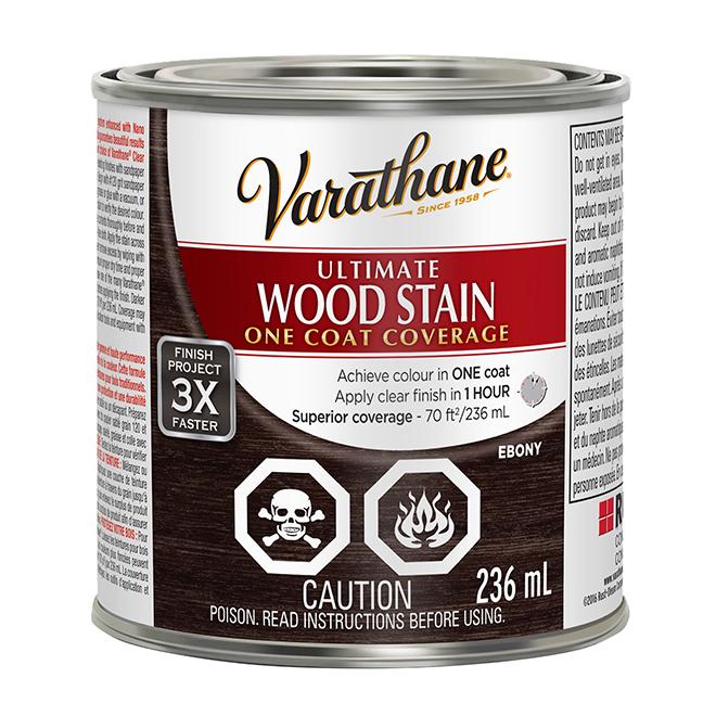 Ultimate Wood Stain - 236 mL - Ebony