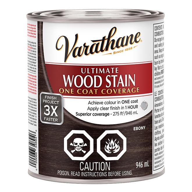 Ultimate Wood Stain - 946 mL - Ebony