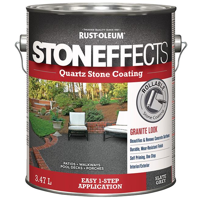 Quartz Stone Coating - 3.47 L - Slate Grey