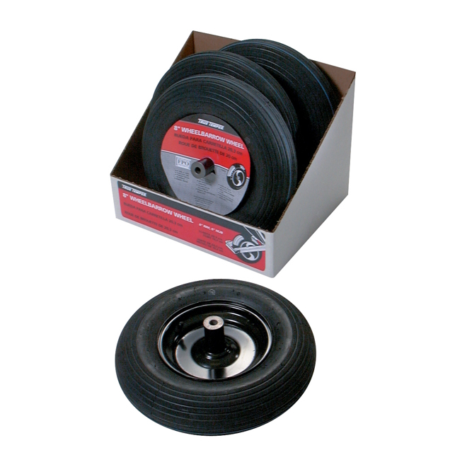 "Replacement Wheelbarrow Tire - 8"""