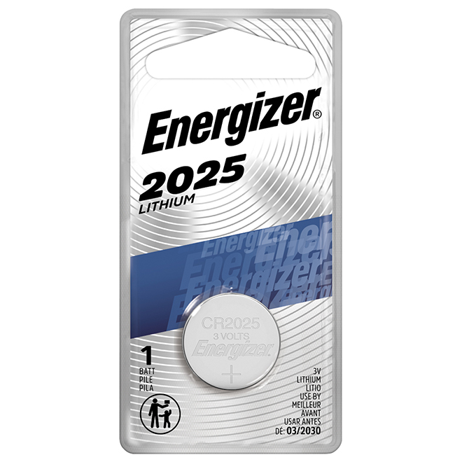 Pile bouton au lithium « 2025 »