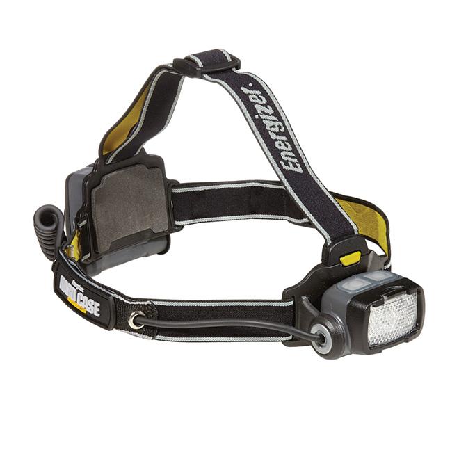 LED Headlight - Hardcase - Black
