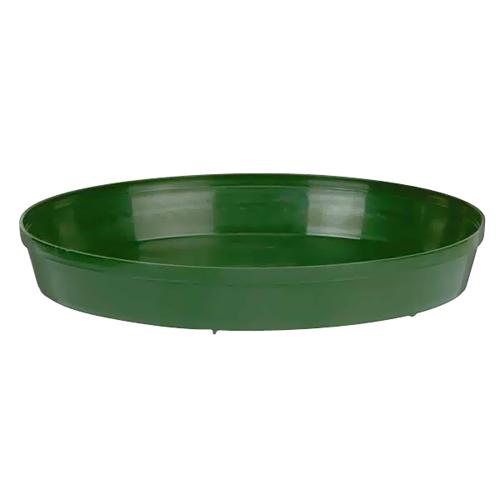 Planter Saucer Kord - Plastic - 8-in - Green