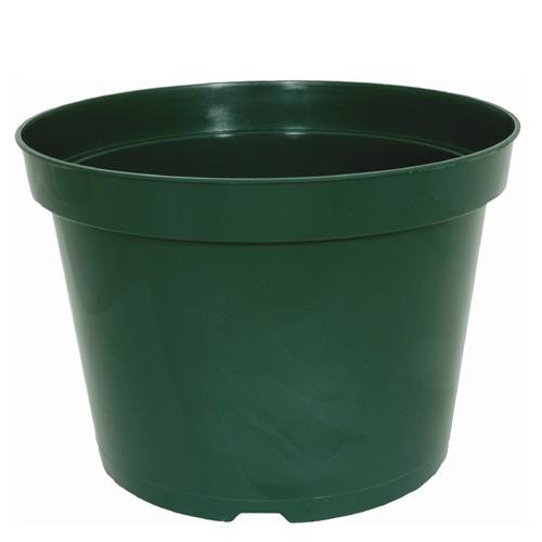 Pot à fleurs Kord, plastique, 10 po, vert
