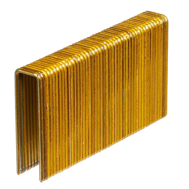 """Flooring Staples - Galvanized - 1 3/4"""" - Gauge 15 - 5000/box"""