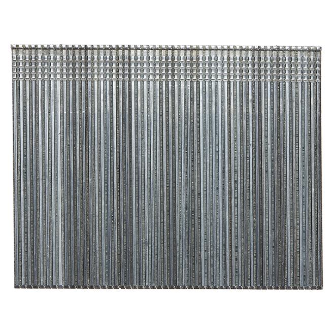 Galvanized Finishing Nails - 2 1/2'' - 16-Gauge - 1000/Box
