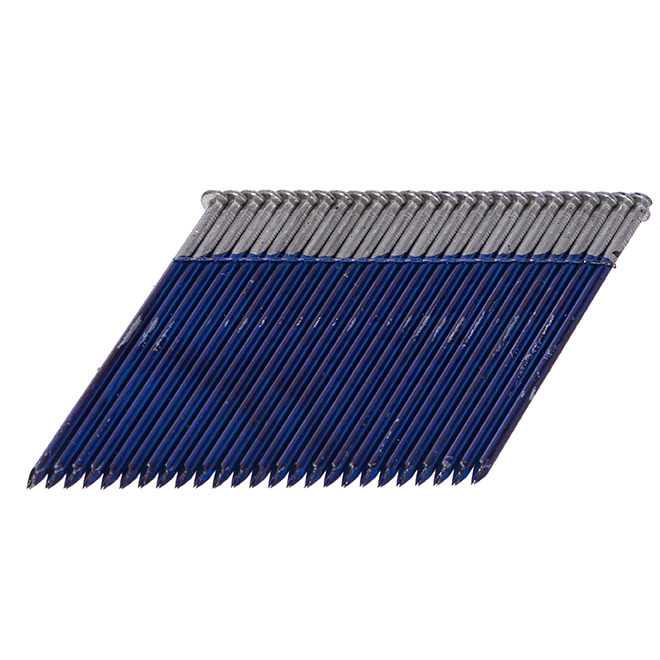 Framing Nails - 2 Sizes - 28° - Galvanized - 3000/Box