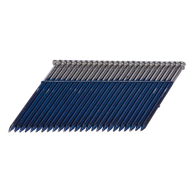 """Wired Framing Nails 28° - Smooth Shank - 2 3/8"""" - 3000/Box"""