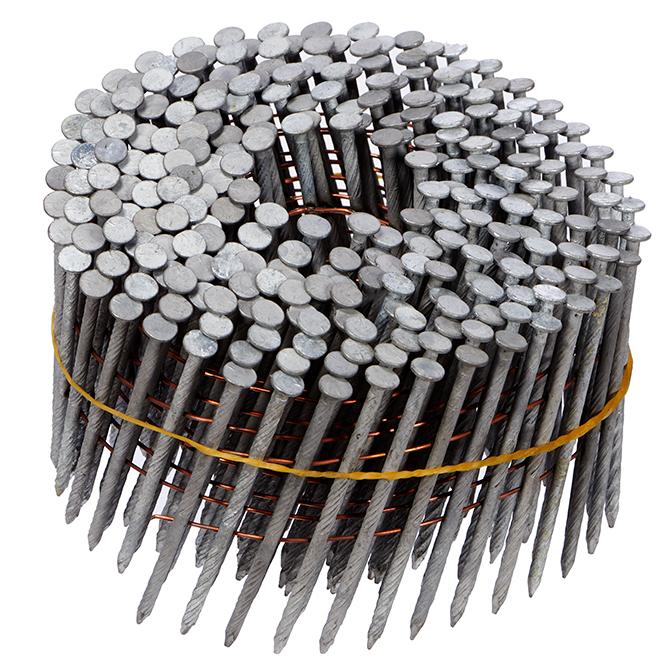 Framing nails - 15° - 2 1/2'' - 5000/Box