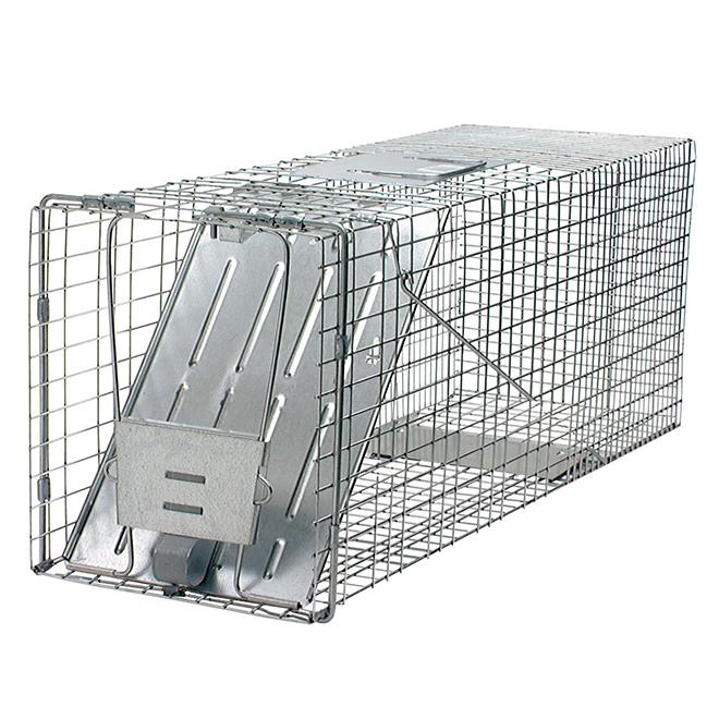 "Live Trap Cage - Raccoon Live Trap - 32"" x 10"" x 12"""
