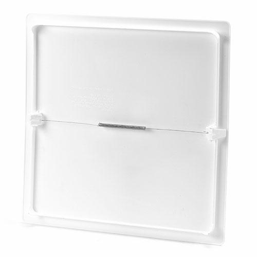"""Panneau d'accès de 14"""" x 14"""" en polystyrène blanc"""