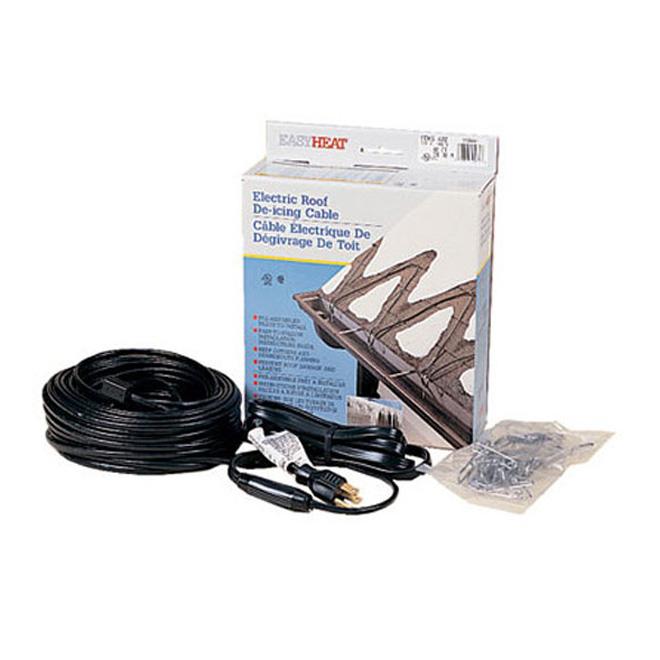 Câble chauffant pour toit