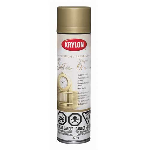 Krylon - Decorative Paint - Aerosol - 247 gr - Gold 18K