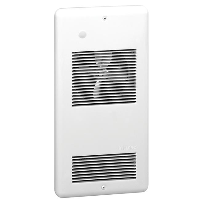 Aéroconvecteur mural, 40 pi³/min, 1000 W/240 V, blanc