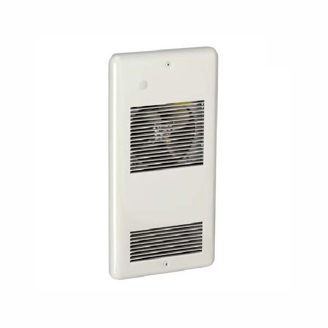 Aéroconvecteur mural, 75 pi³/min, 1500 W/240 V, blanc