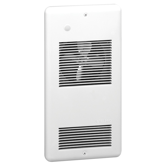 Wall Fan Heater - 2000 W - 22.1 cm - Metal - White