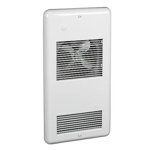 Aéroconvecteur mural, 1000 W/120 V, 40 pi³/min, blanc
