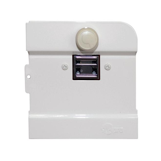 Thermostat mécanique Stelpro, intégré, 300 A/2500 W, blanc
