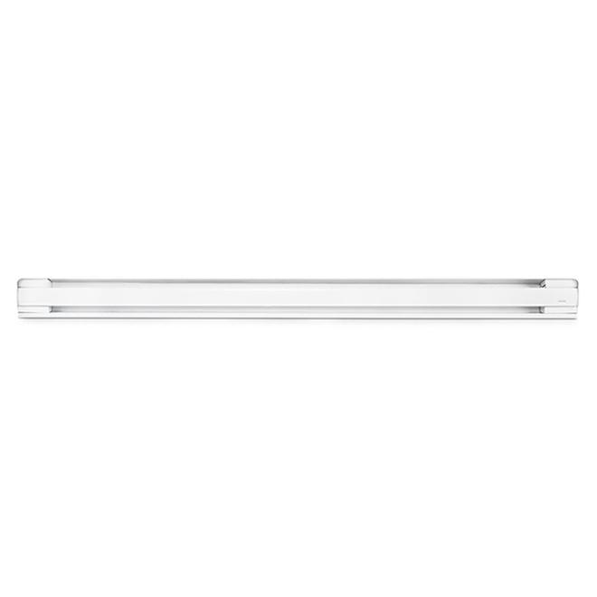 "Round Corner Baseboard Heater - 84"" - Metal - 2000 W"