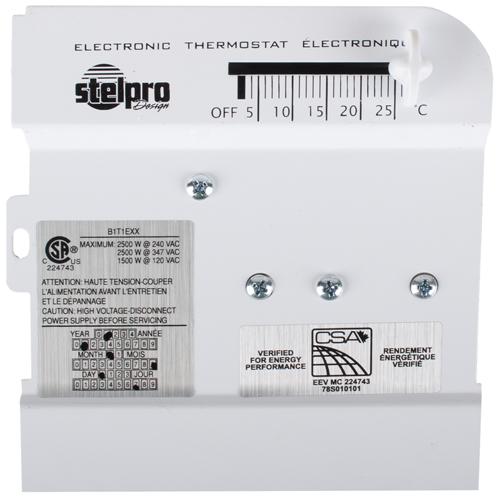 Thermostat pour plinthe