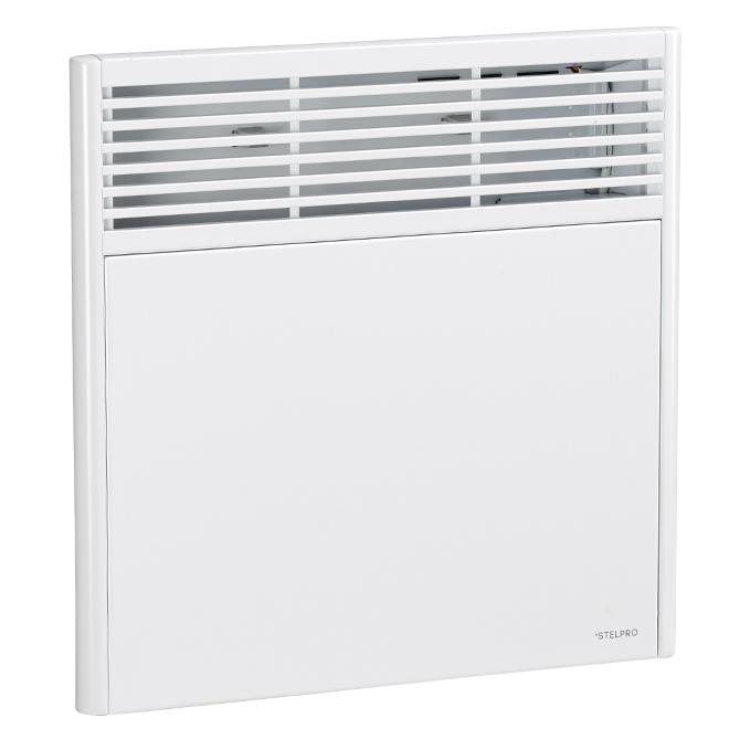 Convecteur électronique, 500W, 240V, modèle standard, blanc