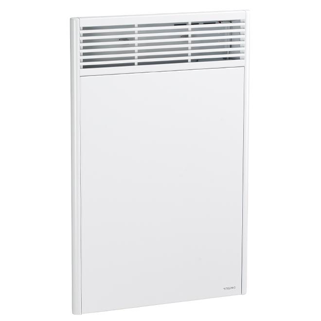 Convecteur électronique, 1000 W, 240 V, modèle haut, blanc