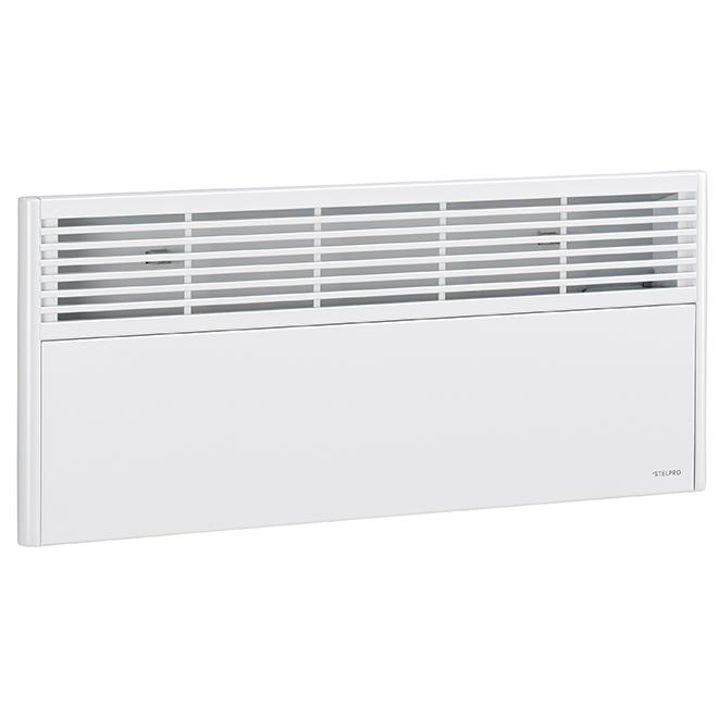 Convecteur électronique, 1000 W, 240 V, modèle bas, blanc