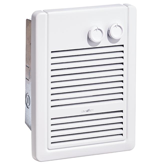 Fan Heater - 1000 W - 240 V - White