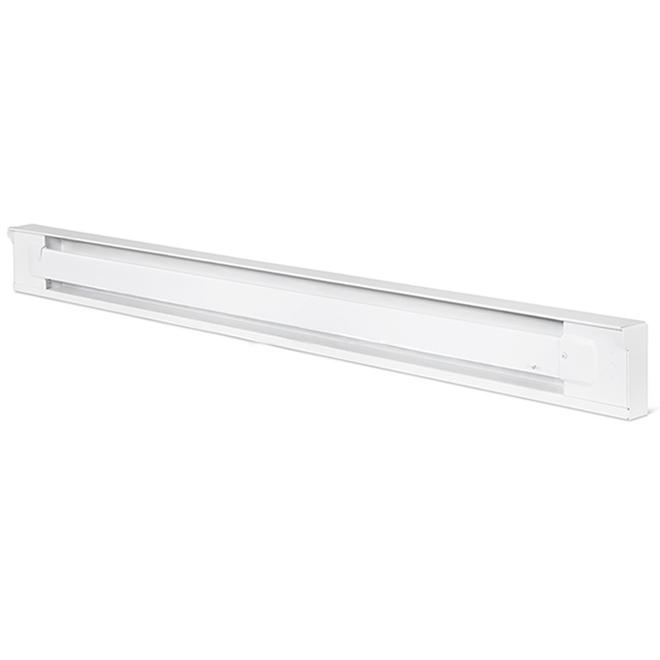Uniwatt(TM) Baseboard Heater - 1500 W - 240 V - White