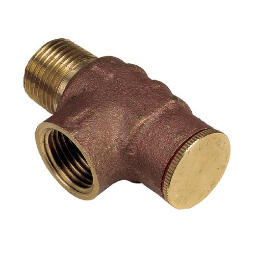 """Soupape de sécurité en laiton de 1/2"""" pour pompe de puits"""