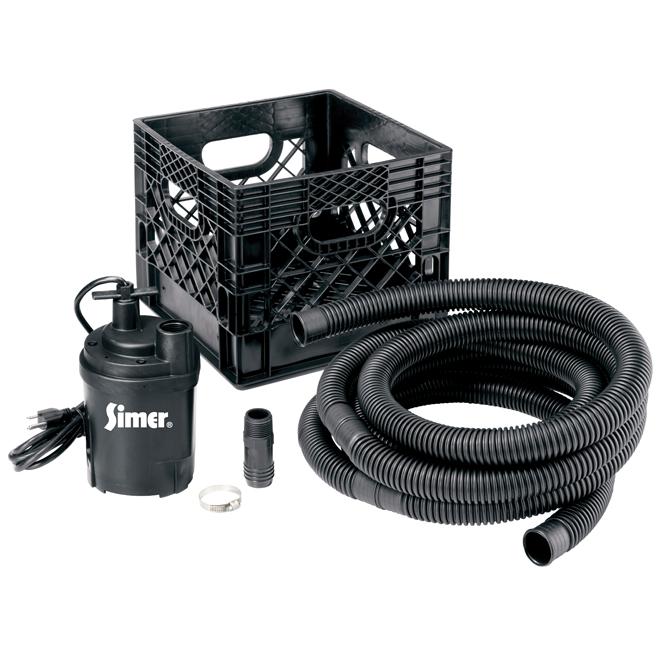 Simer Utility Sump Pump Kit