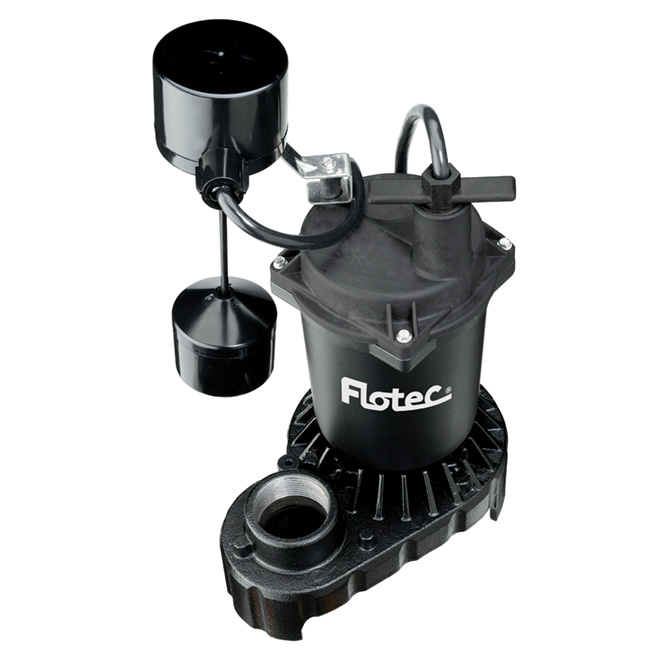 Pompe à puisard submersible, 1/2 hp