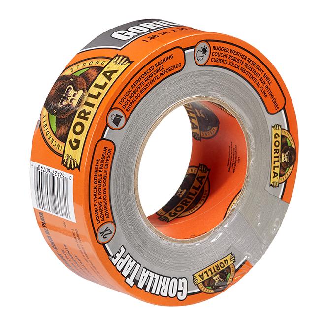 "Adhesive Tape - Tough - 1.8"" x 35yd - Silver"