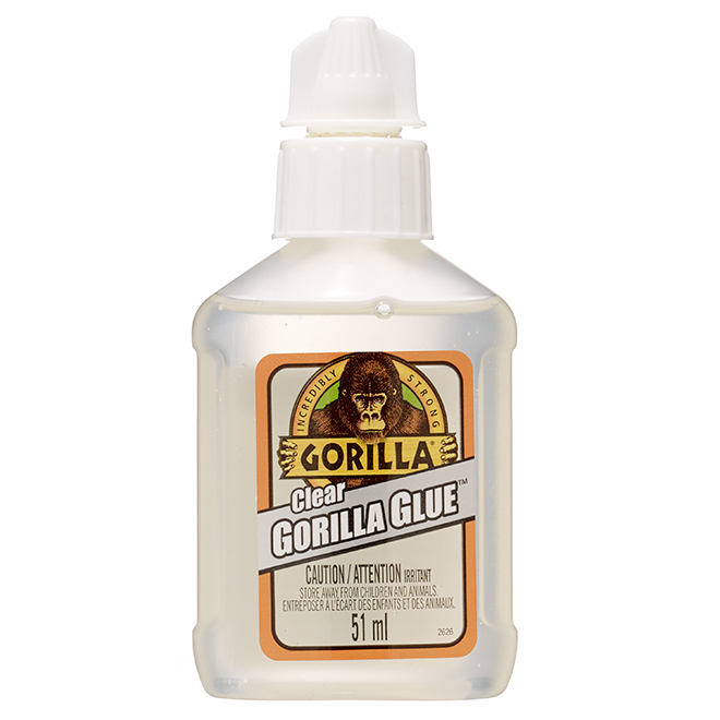 Gorilla Glue Adhesive - Multipurpose - Dries Clear - Waterproof - 51 ml