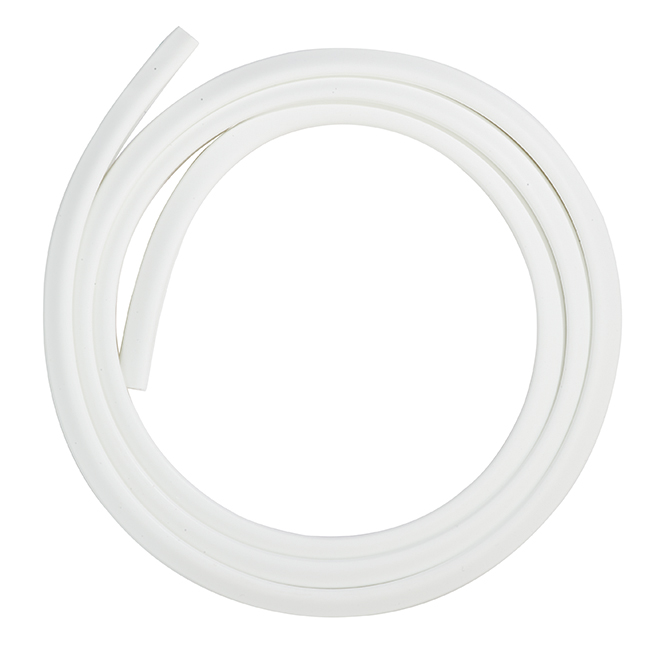 """Ensemble coupe-froid en aluminium et vinyle, 84"""", blanc"""