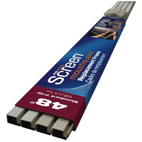 """Screen Frame Kit - 36"""" x 7/16"""" - Aluminum - White"""