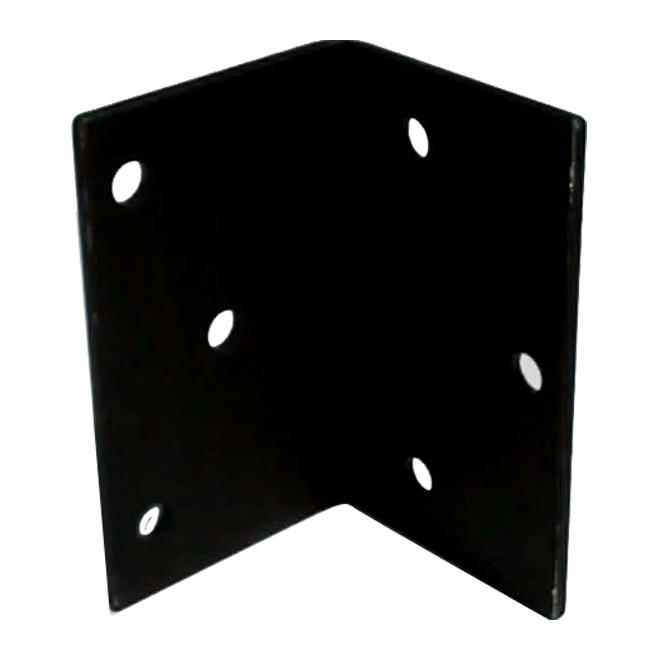 "Steel Angle - 5"" x 3 1/8"" x 3/16"" - 13/32"" Holes"