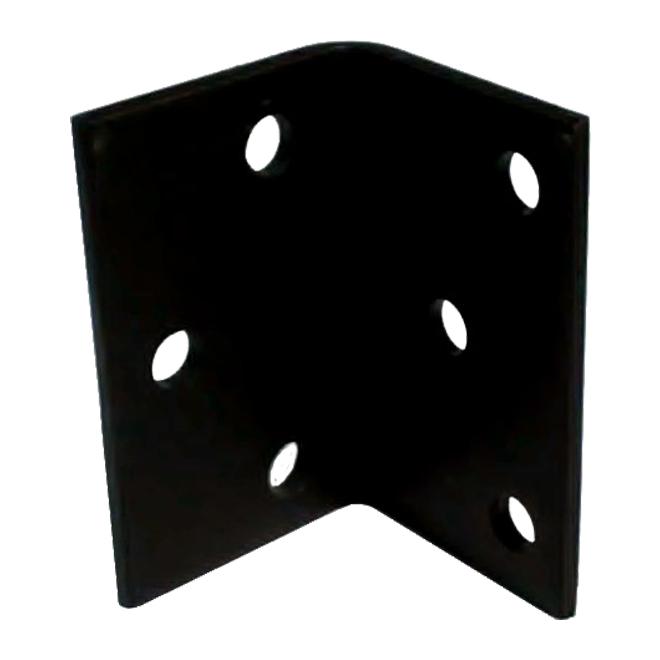 "Steel Angle - 5"" x 3 3/16"" x 1/4"" - 9/16"" Holes"