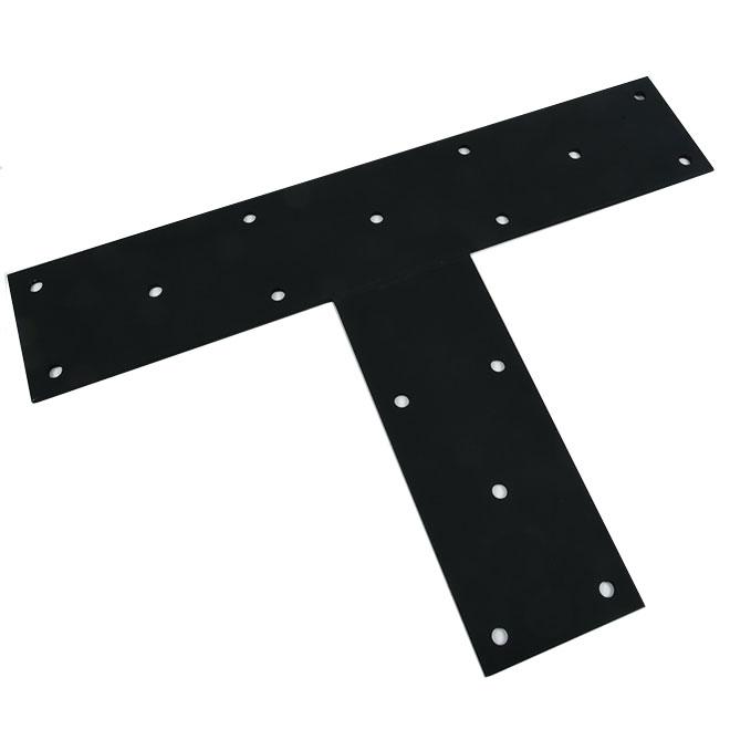 """Flat Angle - Steel - 30"""" x 21"""" x 6"""" - Black"""