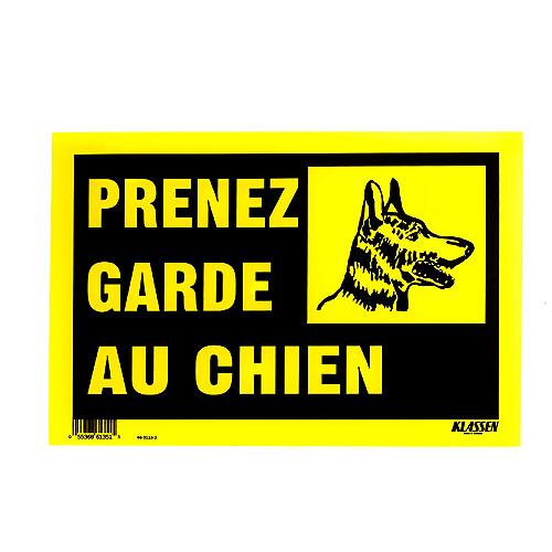 Klassen Prenez Garde Au Chien Sign 1171046 Réno Dépôt