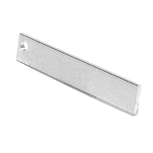 """Aluminum Flat Bar Moulding - 3/4"""" x 3/32"""" x 8'"""