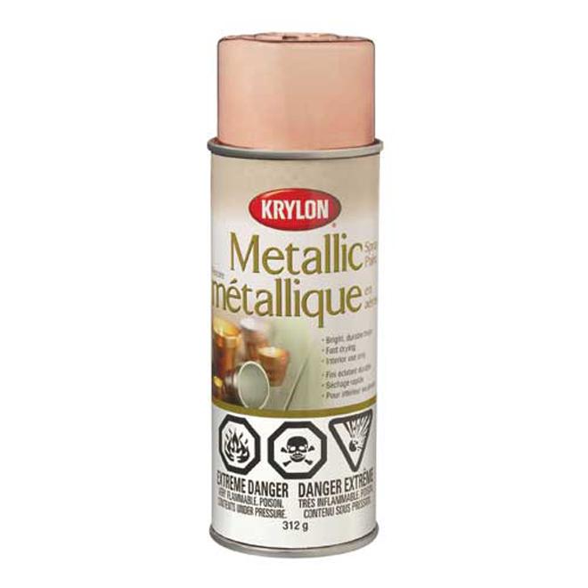 Krylon Metallic Spray Paint - Interior - 312 g - Brass