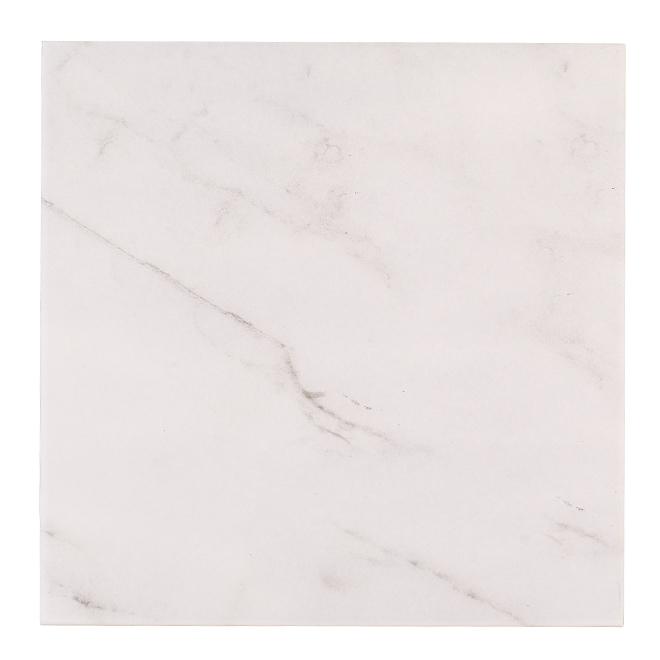 "Capri Ceramic Tiles - 13"" x 13"" - 9/Box - White"
