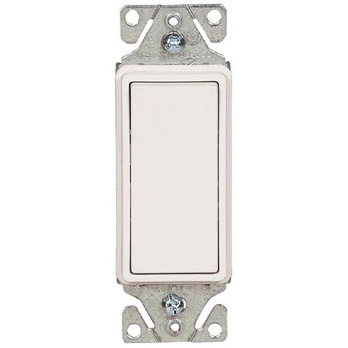 Interrupteur lumineux unipolaire à 3 voies, 120/277V/AC