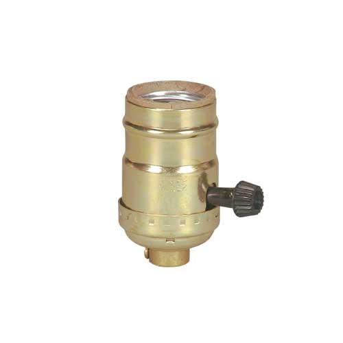 Dipped Aluminum Lamp holder Turn Knob