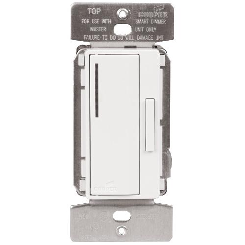 Gradateur intelligent à bas voltage 120 v, blanc satin